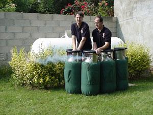 Cylindres de gaz