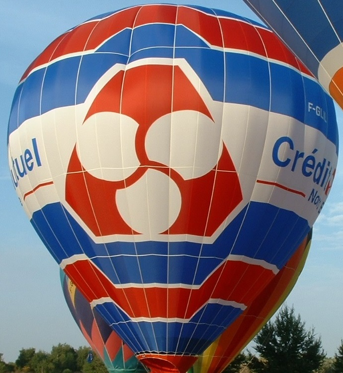 L'enveloppe de la montgolfière