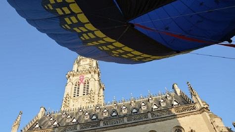 Vol en montgolfière au départ d'Arras