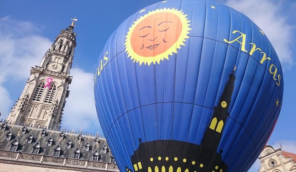 Vol en montgolfière - Arras