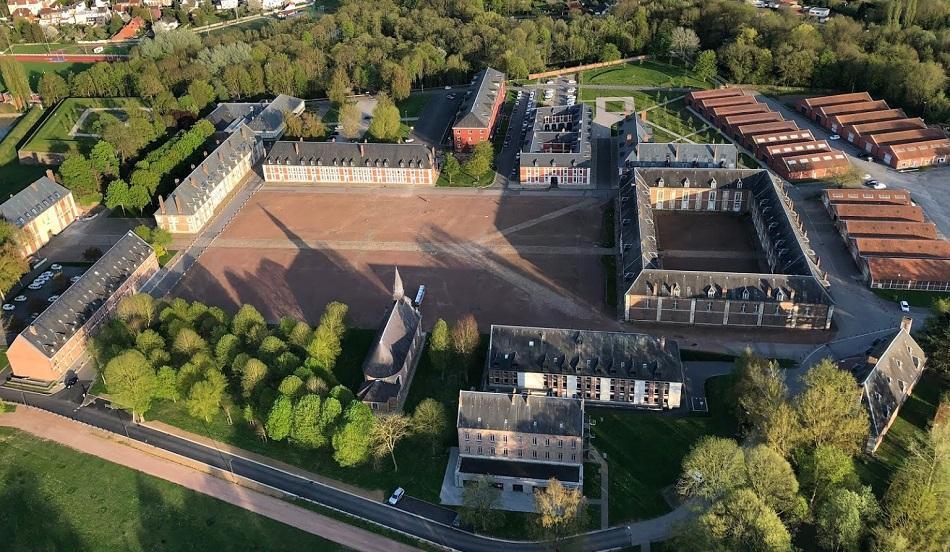 Vol en montgolfière - Citadelle d'Arras